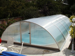 4-piece swimming pool cover (swimming pool Mallorca 3)