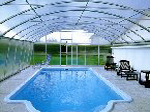 Swimming pool cover - Special construction
